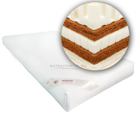 NOVETEX Extra kókusz-latex matrac 3438 180x200 cm