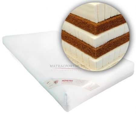 NOVETEX Extra kókusz-latex matrac 43436 160x200 cm