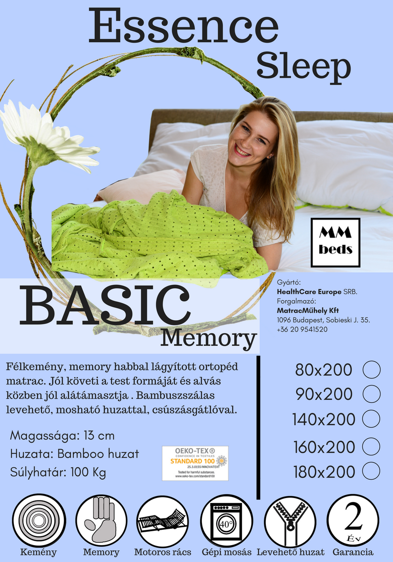 Essence Sleep Basic Memory