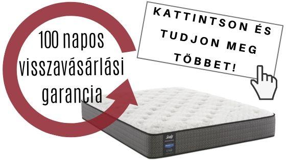 100 napos matrac visszavásárlási garancia