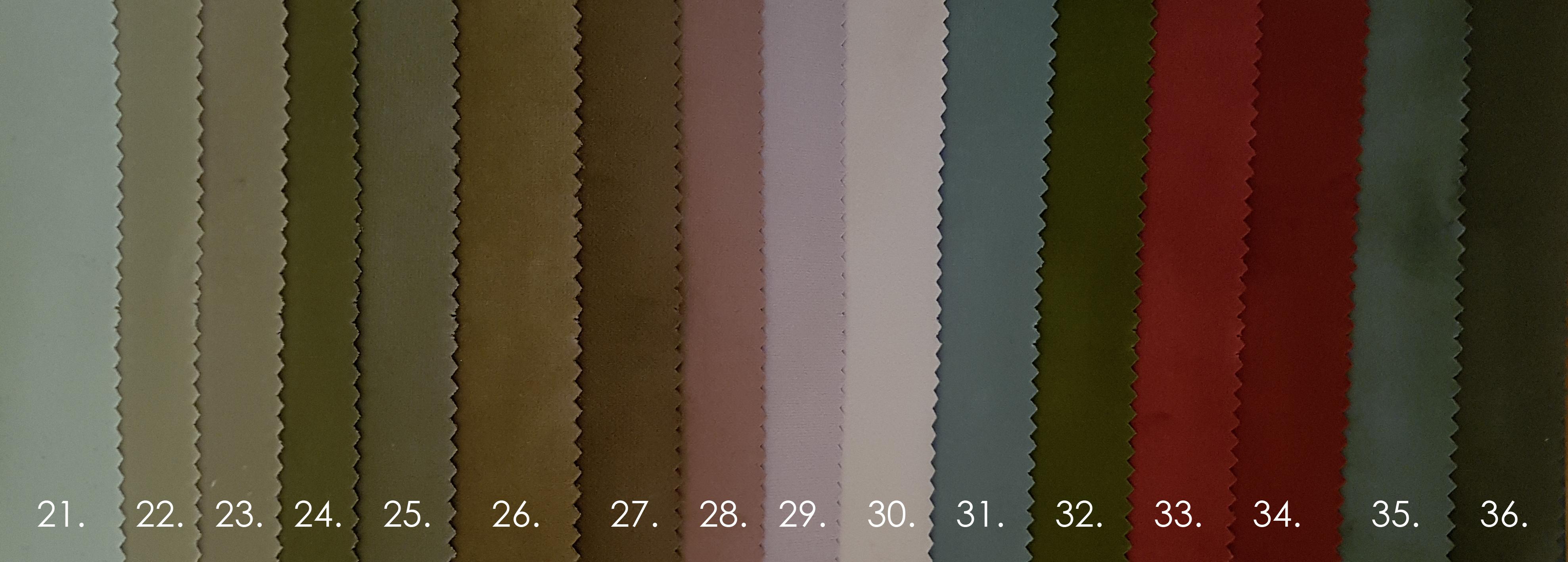 Franciaagy színek